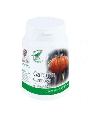 Garcinia Cambogia 60 capsule Pro Natura, Garcinia Cambogia 60 capsule Pro Natura Garcinia este un fruct mic din Asia cu multe pr