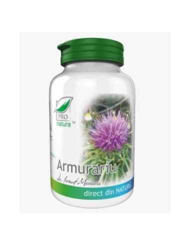 Armurariu 60 cps Medica Armurariul este un puternic antioxidant; prezinta proprietati hepatoprotectoare, coleretice.