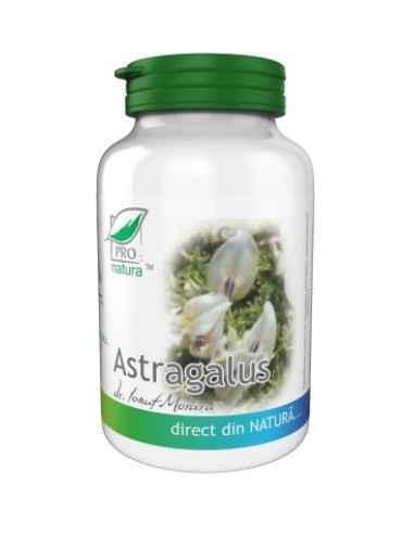 ASTRAGALUS 60CPS Medica Imunostimulator, activează limfocitele T și celulele NK, stimulează funcția de fagocitoză a macrofagelo