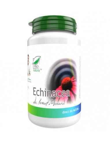ECHINACEA 60CPS Medica Este un supliment alimentar ce contribuie la cresterea capacitatii de aparare a organismului in fata fac