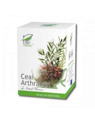 Ceai Arthralgin 20 doze Pro Natura, Ceai Arthralgin 20 doze Pro Natura Imbunatateste mabilitatea articulara, reducand inflamatii