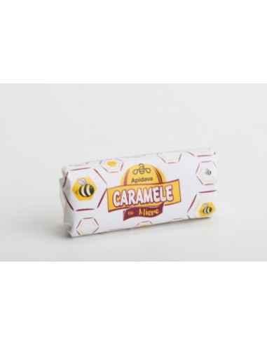 CARAMELE CU MIERE 250GR Apidava Caramele de la Apidava – Gustul copilariei …intr-o reteta personalizata cu miere, polen sau pro
