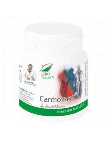 Cardiovasc 150 capsule Pro Natura  Benefic pentru bolnavii de inimaPoate preveni bolile cardiovasculare