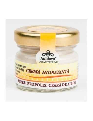 CREMA HIDRATANTA 30ML Apidava Datorita ingredientilor sai activi 100% naturali crema hidratanta are un puternic efect hidratant