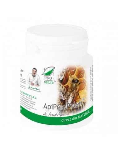 ApiPropPolen 150 capsule Pro Natura Imbunatateste dinamica sexuala si rezistenta organismului la efort fizic si psihic.Sustine a