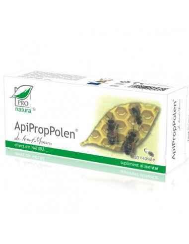 ApiPropPolen 30 capsule Pro Natura Imbunatateste dinamica sexuala si rezistenta organismului la efort fizic si psihic.Sustine ap