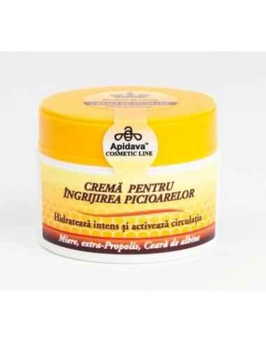 CREMA PENTRU PICIOARE 50ML Apidava Pentru piele deshidratată. Crema pentru îngrijirea picioarelor este o cremă ideală pentru zo
