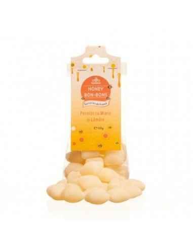 PERNITE CU MIERE&LAMAIE 100GR Apidava Fabricate în Franța după o rețetă tradițională, bomboanele cu miere sunt adevărate delica