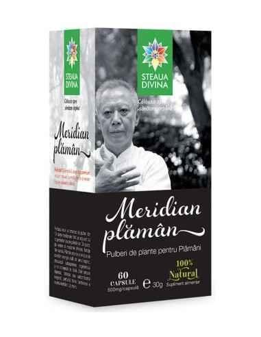 Meridian Plaman 60 cps Steaua Divina, Meridian Plaman 60 cps Steaua Divina Meridian Plaman capsule este un amestec de pulberi di