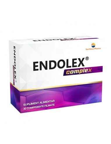 Endolex Complex 30 capsule Sun Wave Pharma Ajută la funcționarea normală a venelor, capilarelor și vaselor limfatice.Contribuie