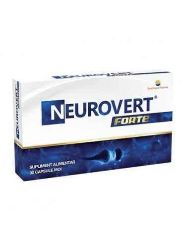Neurovert 30cps SUN WAVE PHARMACapsulele Neurovert sunt recomandate persoanelor care au probleme in ceea ce priveste capacitatea
