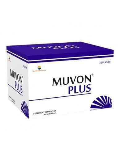 MUVON PLUS 30DZ SUNWAVE PHARMA Contribuie la menținerea elasticității și flexibilității articulațiilor.
