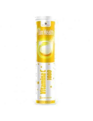 SUN HEALTH VITAMINA C 20CPR EFF SUNWAVE PHARMA Contribuie la funcționarea normală a sistemului imunitar.