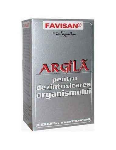 Argila pentru dezintoxicarea organismului 100g Favisan