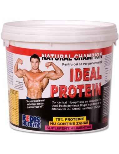 IDEAL PROTEIN-R ciocolata 2 kg galeata Redis Ideal Protein este un concentrat hiperproteic cu absortie in doua trepte de viteza