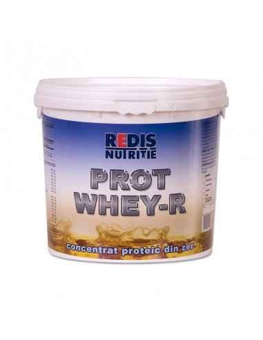 PROTWHEY-R 900 g fara arome si indulcitori Redis Protwhey-R este un concentrat proteic cu absorbtie foarte rapida, are un efect