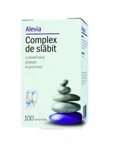 Complex Slabit 100 comprimate Alevia Pentru slăbire sănătoasă şi echilibrată.