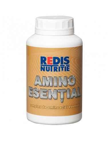 AMINO ESENTIAL-R 200 tablete Redis Amino Esential este un supliment care contine aminoacizi esentiali liberi. Este un produs de