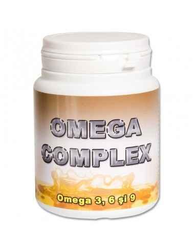 OMEGA COMPLEX 90 capsule Redis Omega 3, 6, 9 contine cei mai importanti acizi grasi nesaturati, obtinuti din surse naturale: ul