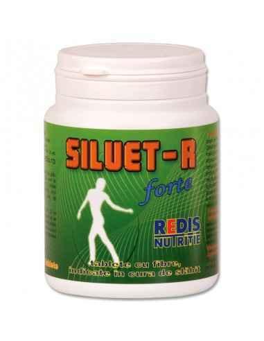 SILUET-R FORTE 200 tablete Redis Siluet-R Forte se prezinta sub forma de tablete cu valoare energetica mica si continut mare de