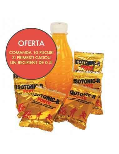 OFERTA ISOTONIC FORTE-R 50 g/plic - 10 plicuri Redis Oferta Isotonic-R Forte - oferta cuprinde 10 plicuri de Isotonic-R Forte s