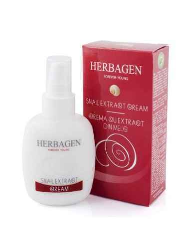 Crema extract din melc 100 ml Herbagen, Crema extract din melc 100 ml Herbagen Crema cu extract din melc HERBAGEN contine Polyhe