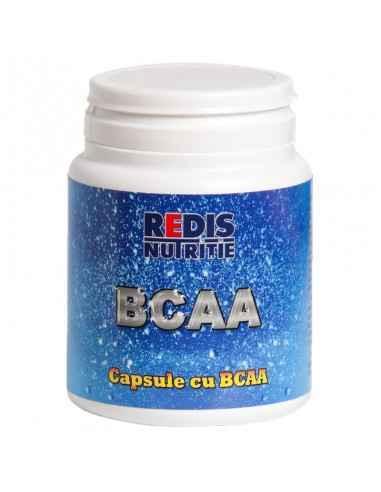 BCAA 120 capsule Redis BCAA - este un produs cu efect anabolic.