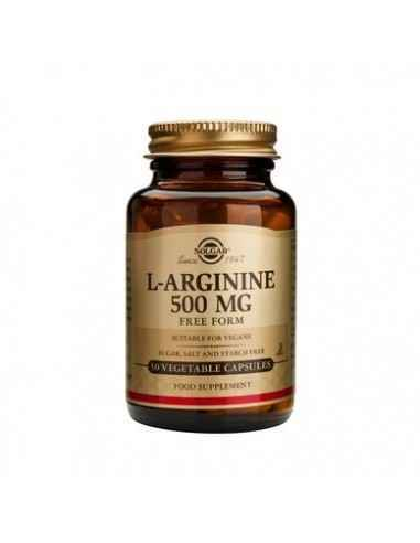 L-Arginine 500 mg 50 capsule Solgar, L-Arginine 500 mg 50 capsule Solgar  L-arginina este esențială în procesele metabolice ale