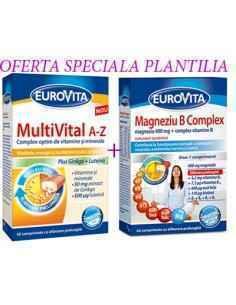 EUROVITA MULTIVITAL A-Z 42CPR + MG B COMPLEX 42CPR EUROVITA