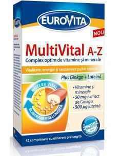 EUROVITA MULTIVITAL A-Z 42 CPR EUROVITA