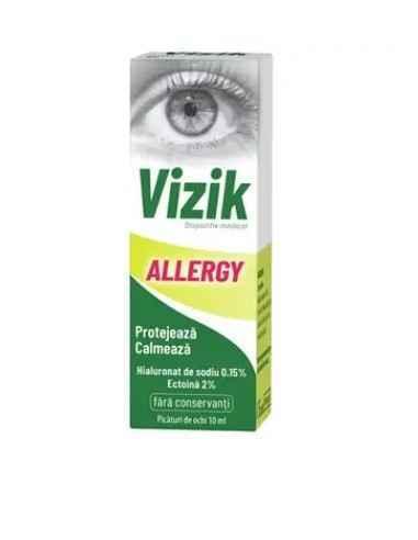 VIZIK ALLERGY PICATURI PENTRU OCHI 10ML Zdrovit Picaturile pentru ochi Vizik Allergy reprezinta un dispozitiv medical care cont