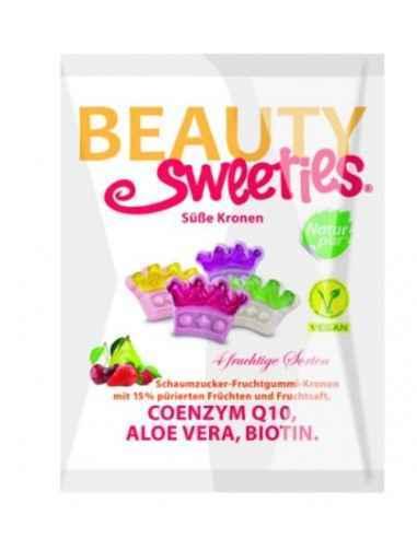 JELEURI GUMATE MOI CORONITE 125GR BEAUTY SWEETIES Sunt produse fara gluten, fara grasimi, fara lactoza, nu contin gelatina, aro