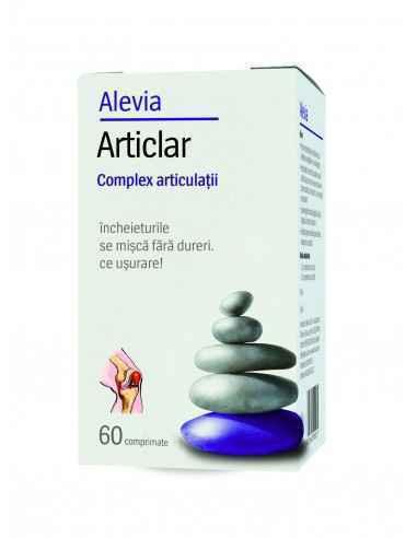Articlar -Complex articulatii 60 comprimate Alevia, Articlar -Complex articulatii 60 comprimate Alevia Articlar acţionează efici
