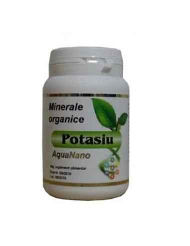 POTASIU ORGANIC 40gr AGHORAS Potasiu organic pulbere este un bun tonic cardiac si tonic muscular, el stimuleaza peristaltismul