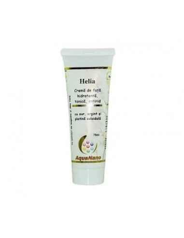 CREMA HELIA (aur, argint, platina coloidala) 75ml AGHORAS Helia este o crema hidratanta ce contine ingrediente selectate pentru