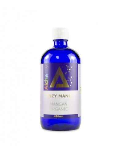 """ENZI MANG MANGAN IONIC ORGANIC """"ALCHEMY"""" 480ml AGHORAS In mod normal, manganul poate fi gasit in cereale integrale, fructe, leg"""